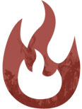 Fire and smoke restoration icon